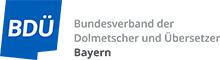 Yvonne Haberda ist Mitglied im Bundesverband der Dolmetscher und Übersetzer, Landesverband Bayern